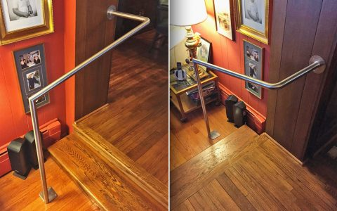 Polished Stainless Steel Handrail